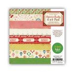 Crate Paper - Peppermint Collection - Christmas - 6 x 6 Paper Pad