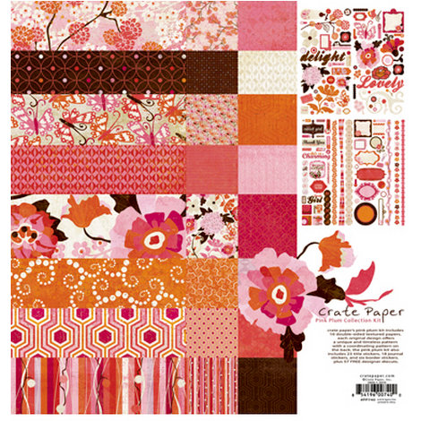 Crate Paper - Pink Plum Collection Kit
