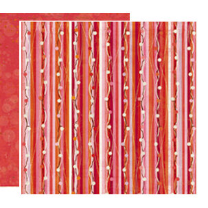 Crate Paper - Pink Plum Collection - 12 x 12 Double Sided Paper - Cranberries
