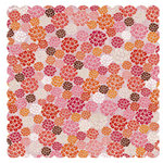 Crate Paper - Pink Plum Collection - 12 x 12 Die Cut Paper - Blueberry