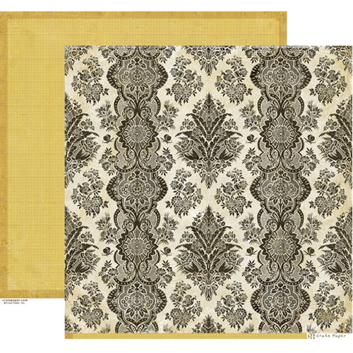 Crate Paper - Portrait Collection - 12 x 12 Double Sided Paper - Traditions