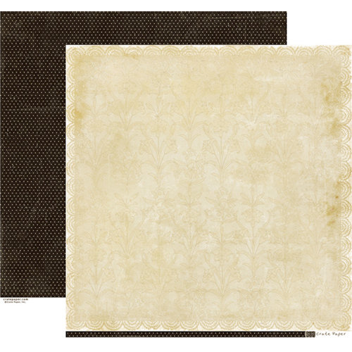 Crate Paper - Portrait Collection - 12 x 12 Double Sided Paper - Pearls
