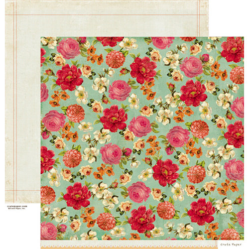 Crate Paper - Random Collection - 12 x 12 Double Sided Paper - Vintage