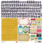 Crate Paper - Random Collection - Cardstock Stickers - Alphabet and Labels