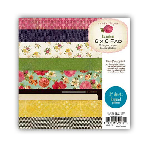 Crate Paper - Random Collection - 6 x 6 Paper Pad