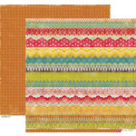 Crate Paper - Restoration Collection - 12 x 12 Double Sided Paper - Fringe