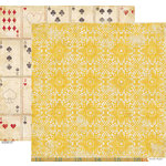 Crate Paper - Restoration Collection - 12 x 12 Double Sided Paper - Lace