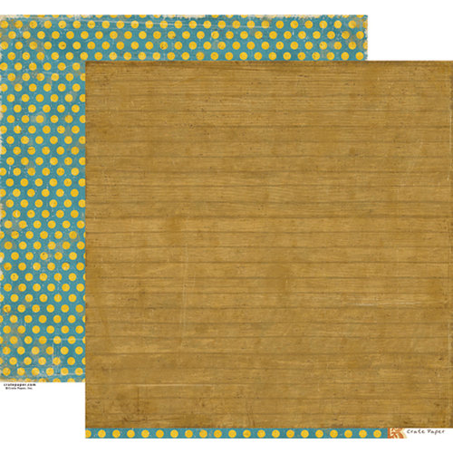 Crate Paper - Restoration Collection - 12 x 12 Double Sided Paper - Refinish
