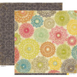 Crate Paper - Restoration Collection - 12 x 12 Double Sided Paper - Doilies