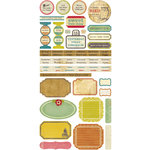 Crate Paper - Restoration Collection - Cardstock Stickers - Phrase
