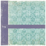 Crate Paper - Double Sided Textured Paper - Samantha Collection - Ivy, CLEARANCE