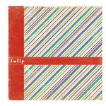 Crate Paper - Double Sided Textured Paper - Samantha Collection - Tulip, CLEARANCE