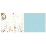 Crate Paper - Sweet Branch Collection - 12x12 Double Sided Paper - Flutter, CLEARANCE