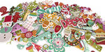 Crate Paper - Snow Day Collection - Christmas - Chipboard Stickers - Accents