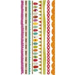 Crate Paper - Snow Day Collection - Christmas - Cardstock Stickers - Border
