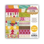 Crate Paper - Snow Day Collection - Christmas - 6 x 6 Paper Pad