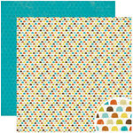 Crate Paper - Season Collection - 12 x 12 Double Sided Paper - Winter, CLEARANCE
