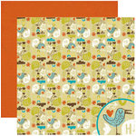 Crate Paper - Season Collection - 12 x 12 Double Sided Paper - Friendly