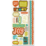 Crate Paper - Season Collection - Cardstock Stickers - Title, CLEARANCE