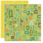 Crate Paper - Little Sprout Collection - 12 x 12 Double Sided Textured Paper - Elements, CLEARANCE