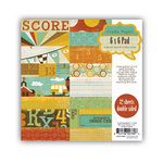 Crate Paper - School Spirit Collection - 6 x 6 Paper Pad