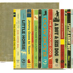 Crate Paper - Toy Box Collection - 12 x 12 Double Sided Paper - Story Time