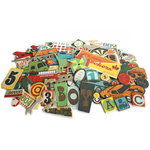 Crate Paper - Toy Box Collection - Chipboard Stickers - Accents