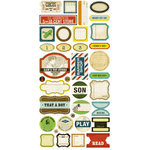 Crate Paper - Toy Box Collection - Cardstock Stickers - Phrase