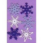 Creative Impressions - Felt Snowflakes - Winter - Medium