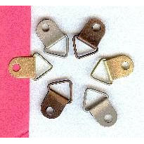 Creative Impressions - Metal Loops - Triangles - Antique