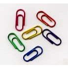 Creative Impressions - Paper Clips - Metallic - Mini