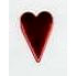 Creative Impressions - Brads - Country Heart - Metallic Red