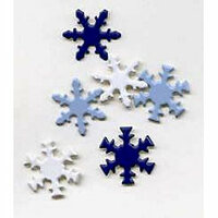 Creative Impressions - Brads - Snowflake - Winter