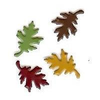 Creative Impressions - Brads - Oak Leaf - Autumn