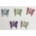 Creative Impressions - Brads - Pearl Butterfly