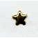 Creative Impressions - Brads - Star - Gold - Mini