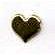 Creative Impressions - Brads - Heart - Silver