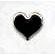 Creative Impressions - Brads - Heart - Silver - Medium