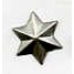 Creative Impressions - Brads - 3 Dimensional Star - Pewter