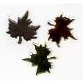Creative Impressions - Brads - Maple Leaf - Copper, Gold, Silver