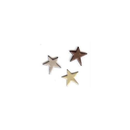 Creative Impressions - Brads - Primitive Star - Assortment