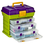 Creative Options - Vineyard Collection - Grab 'N Go Organizer - 3-By Rack System - Large