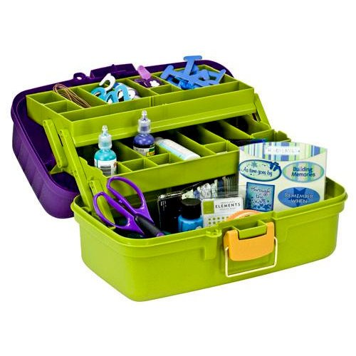 Creative Options - Vineyard Collection - Grab 'N Go Organizer - Tray Box, CLEARANCE