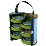 Creative Options - Vineyard Collection - Portable Bead and Embellishment Tower Organizer, CLEARANCE