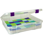 Creative Options - Vineyard Collection - 12 x 12 Project Box - Clear