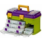 Creative Options - Vineyard Collection - Grab 'N Go Organizer - Multi-Craft Rack System