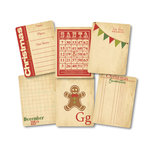 Chic Tags - Delightful Paper Tags - Christmas Vintage Cards - Set of 6