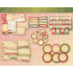 Chic Tags - Delightful Paper Tags - December Daily Album Kit III - Set of 59