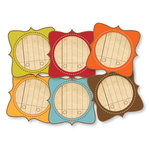 Chic Tags - Delightful Paper Tags - Fall Artisan - Set of 6