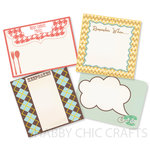 Chic Tags - Delightful Paper Tags - Grandma's House - Set of 4